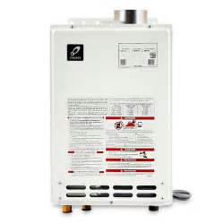 how to install a gas hot water heater