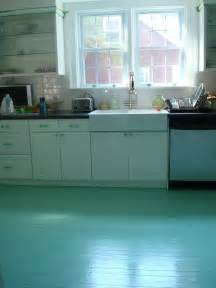 Painted Kitchen Floors High Heeled Foot In The Door Diy Painted Kitchen Floor For 50