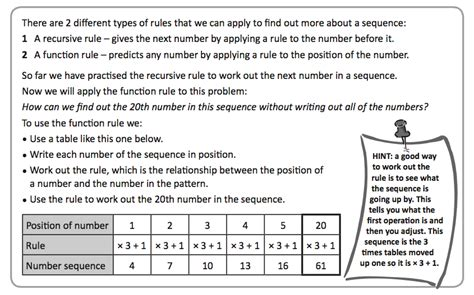 writing number pattern rules lesson 6 finding the nth term bcpsyr62015
