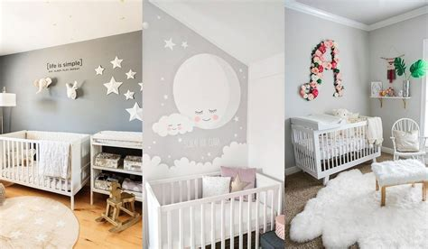 decoracion habitacion bebes mellizos dormitorios en gris para beb 233 s
