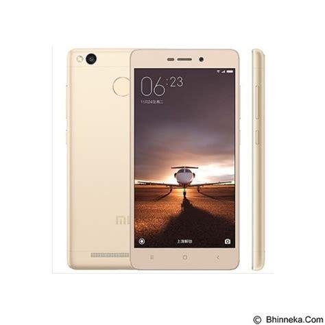 Xiaomi Redmi 3 32gb Ram 3gb jual xiaomi redmi 3 pro 3g 32gb 3gb ram gold murah bhinneka