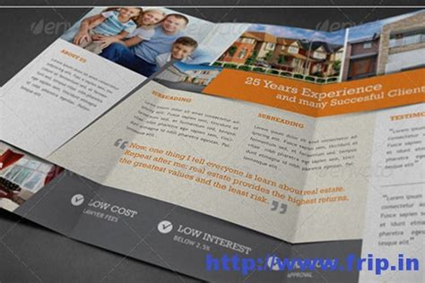50 best real estate brochure print templates frip in