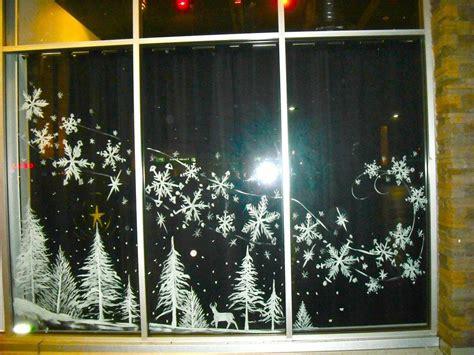 Fensterdeko Weihnachten Kreidemarker by Fensterdeko Kreidemarker Fensterdeko