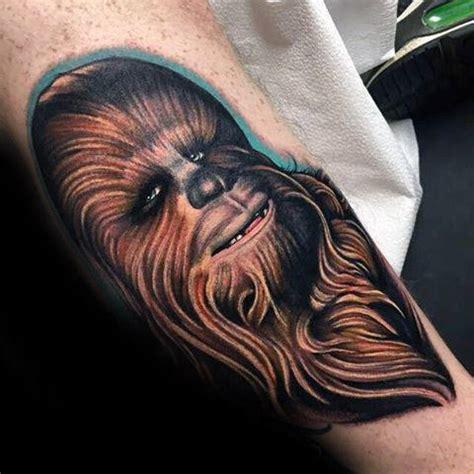 chewbacca tattoo 30 chewbacca designs for wars ink ideas