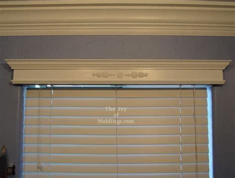 box cornice wood windows wood window cornice kit diy reinvent great