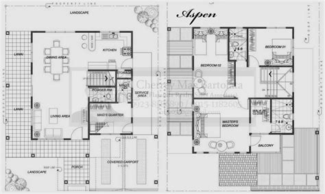 storey residential house floor plans home design decor