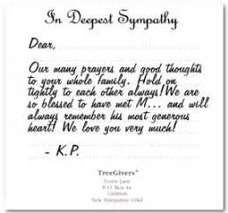 condolence card phrases