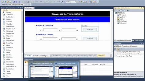 tutorial visual studio 2012 web service creaci 243 n de un web service con visual studio 2010 youtube
