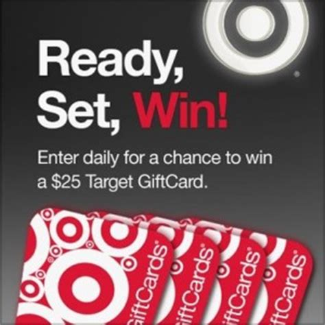 Enter To Win A Target Gift Card - enter to win a 25 target gift card 25 winners each day