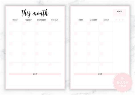 printable irma monthly planners eliza ellis