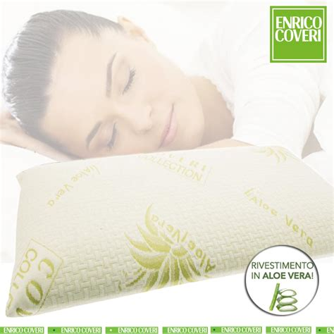 cuscino in memory foam cuscino in memory foam modello saponetta fodera in aloe