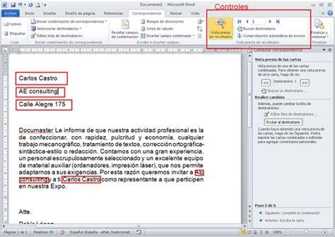 seleccionar varias imagenes word 2013 combinar correspondencia en word 2010 eescalona s blog