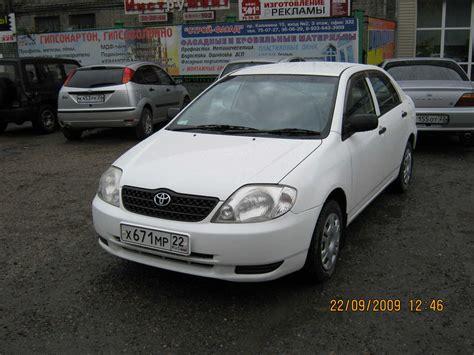 Toyota Corolla 2002 For Sale 2002 Toyota Corolla Pictures 1 3l Gasoline Ff