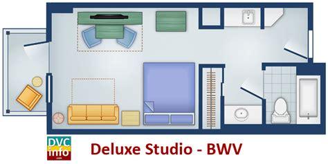 dvc boardwalk villas floor plan disney s boardwalk villas dvcinfo
