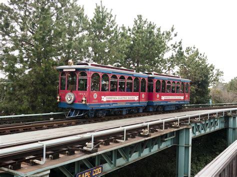 The Electric Railway disneysea electric railway