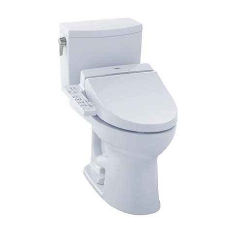 2 In 1 Toilet And Bidet Toto Ii Connect 2 1 0 Gpf Elongated Toilet