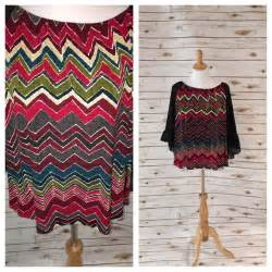 Flowy Stripe Bell Sleeve Top zigzag stripe gorgeous flowy blouse with sheer bell sleeves from suzanne s closet on poshmark