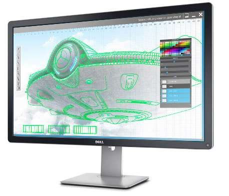 Monitor Baru monitor dell ultrasharp 32 dengan layar monitor igzo baru