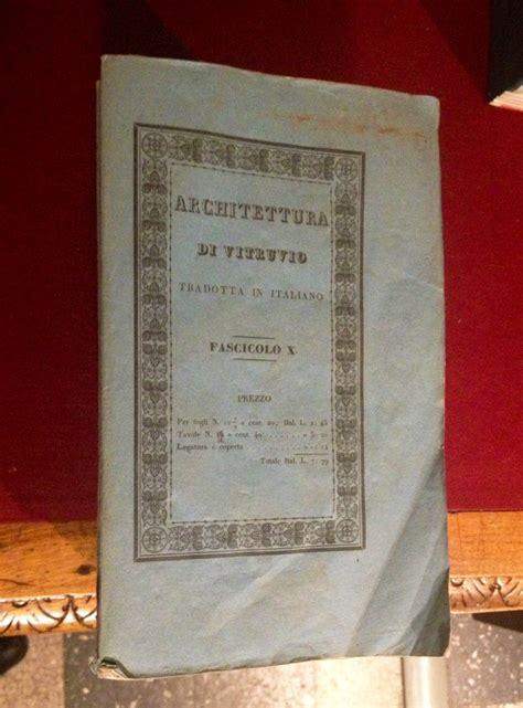 librerie antiquarie torino il vitruvio viviani udine 1830 32 libreria