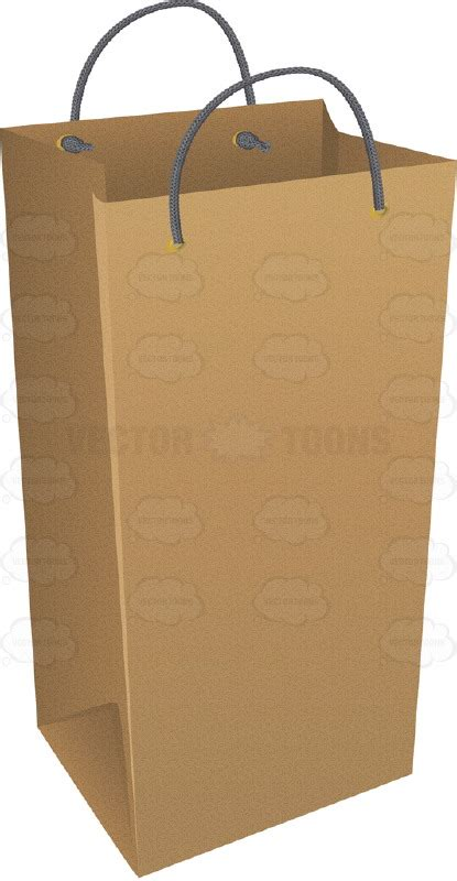 How To Make A Big Paper Bag - thin wine bottle brown paper bag clipart stock