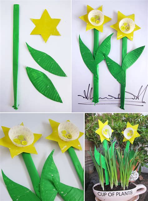 daffodil craft for daffodils flowers crafts