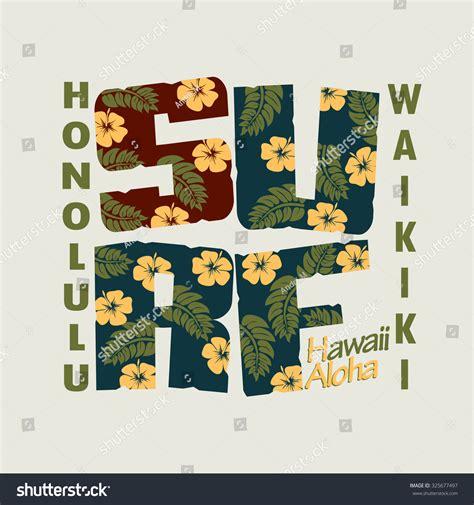 pattern surf graphic t shirt surfing t shirt floral graphic design waikiki beach surf