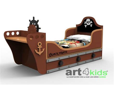 cama barco pirata dormitorio tem 225 tico black pirate