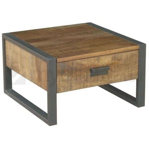 Mango Wood Side Table Omaha Mango Wood And Metal L Side Table Buy Side Tables