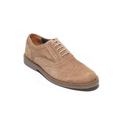 suede oxford shoes hilfiger suede oxford shoe in beige for dingo
