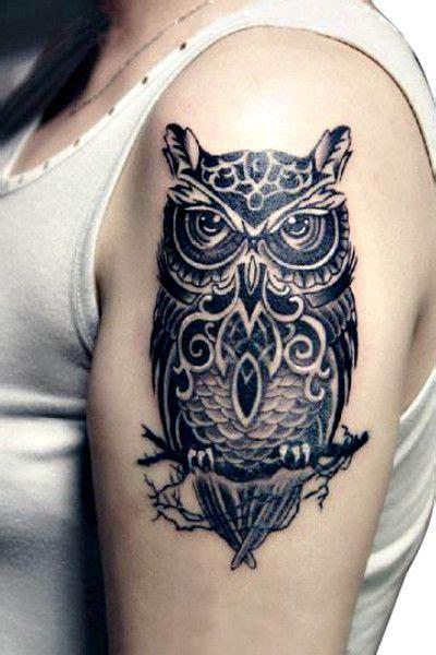 owl tattoo temporary large realistic black owl temporary tattoo body art body