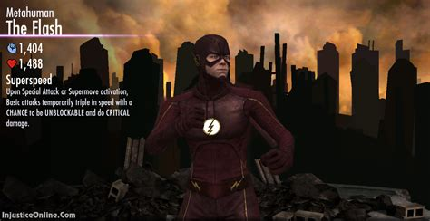 us mobile injustice gods among us mobile metahuman cw flash