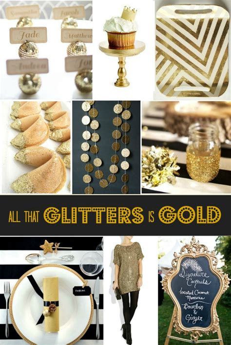 party themes gold gold party decor celebrations at home
