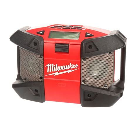 milwaukee m12 site radio 2590 20 the home depot
