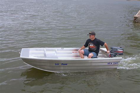 punt boats sea jay aluminium boats punt sea jay boats
