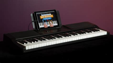 piano keyboard with light up keys the one smart piano review this smart keyboard will teach
