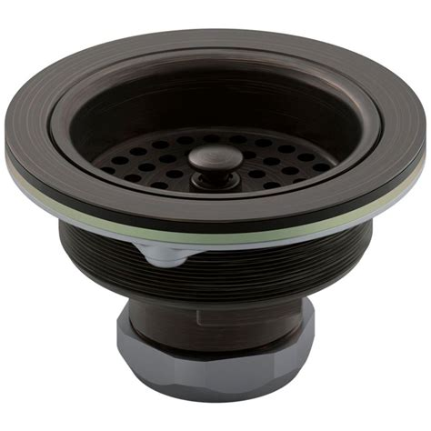 1 1 4 to 1 1 2 sink drain adapter kohler duostrainer 4 1 2 in sink strainer in rubbed