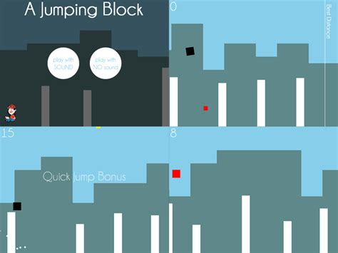 design pattern html5 play a jumping block an html5 minimalist game based on