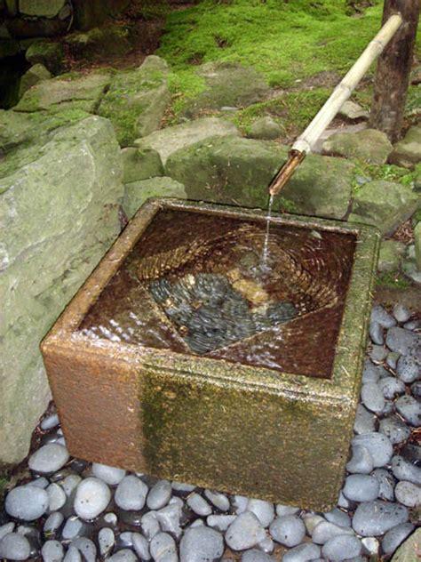 fontaine de jardin zen fontaines de jardin japonais fontaines en et bambou