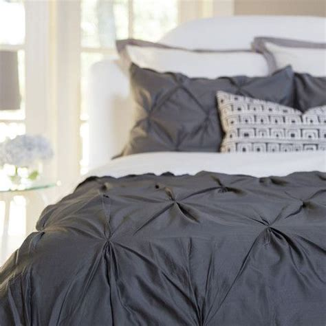 gray pintuck comforter bedroom inspiration and bedding decor the valencia
