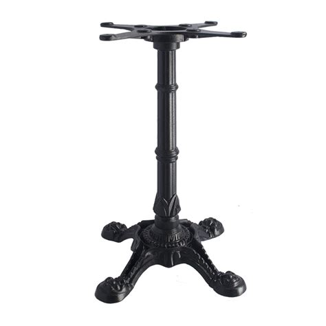 Cast Iron Bistro Table Base 4 Prong Classic Bistro Style Cast Iron Table Base Emfinecn