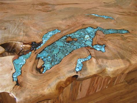 Turquoise Inlay Table by Table Turquoise Inlay Jewelry Ideas Turquoise And Wood