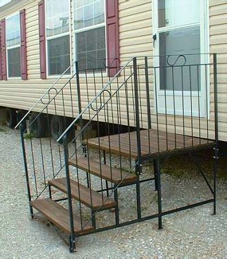 steps and decks mobile home advantage