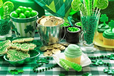 st patricks day party food  drink recipes