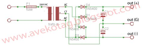 dioda bridge trafo ct dioda bridge trafo ct 28 images cara membuat skema rangkaian power supply variabel 10a
