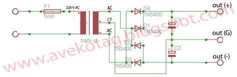 dioda trafo ct dioda bridge trafo ct 28 images cara membuat skema rangkaian power supply variabel 10a