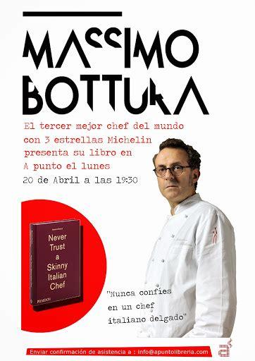 libreria francescana libro massimo bottura escuela de cocina a punto