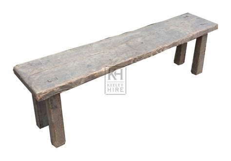 easy bench benches prop hire 187 simple wood bench keeley hire