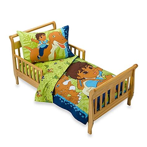 safari toddler bed go diego go safari 4 piece toddler bedding set bed bath