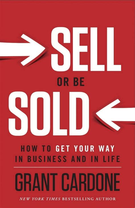 The Sell sell or be sold by grant cardone adventure paul