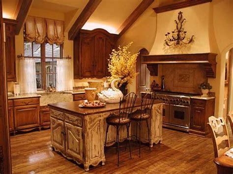 Tuscan Style Kitchen Curtains Country Style Kitchens Home Interior Design